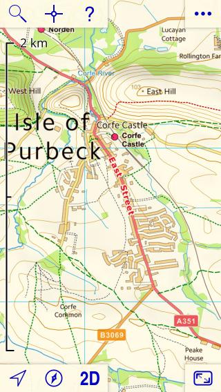 UK Map App Introduction - Contour maps online uk