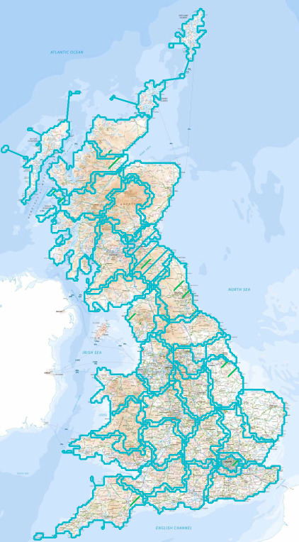 UK Map App :: Paid Maps